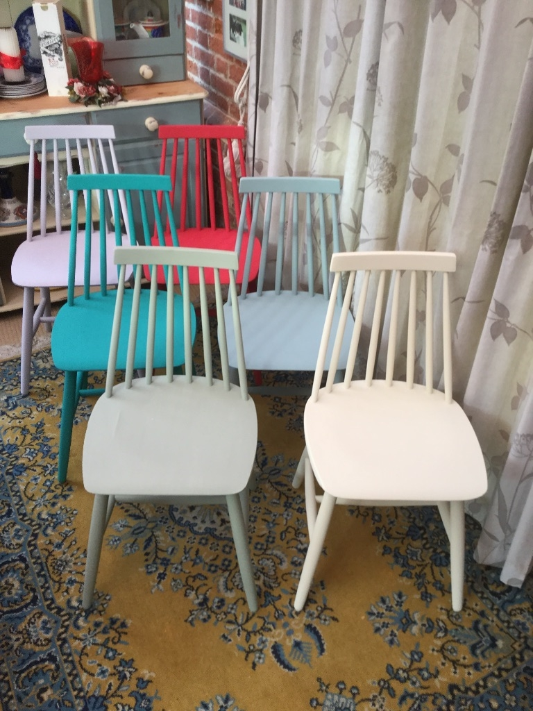 solid_pine_multi_coloured_kitchen_dining_chairs